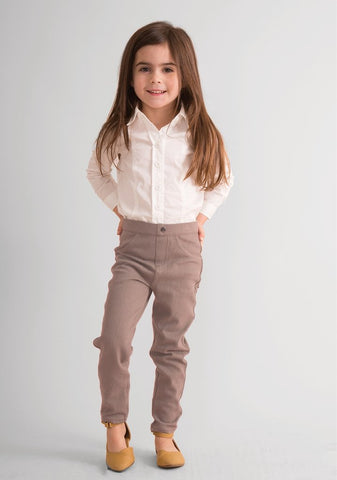 Chino Stretch Pant Toddler in 2 colors - Simply Noelle