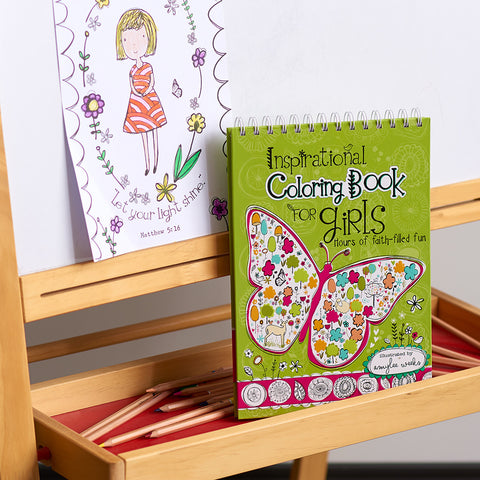 Wired Inspirational Coloring Book for Girls - KDS540