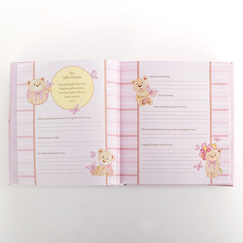 our Baby Girl Memory Book Christian Art Gifts MBB002 Christian Life - Family