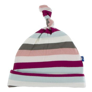 Geology Stripe Knotted Infant Hat  Kickee Pants Fall 2019