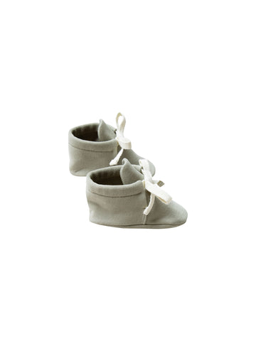 Sage Baby Booties - Quincy Mae 018C
