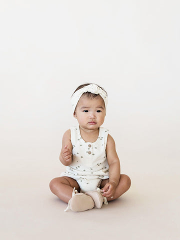 Ivory Sleeveless Bubble - Quincy Mae 022B Spring 2019