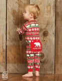 Beary X-Mas Infant Unionsuit - Little Blue House By: Hatley Fall 2018