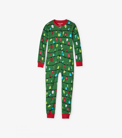 ff702637afac ... Green Northern Lights Kids Unionsuit - Little Blue House By: Hatley  Fall 2018 ...