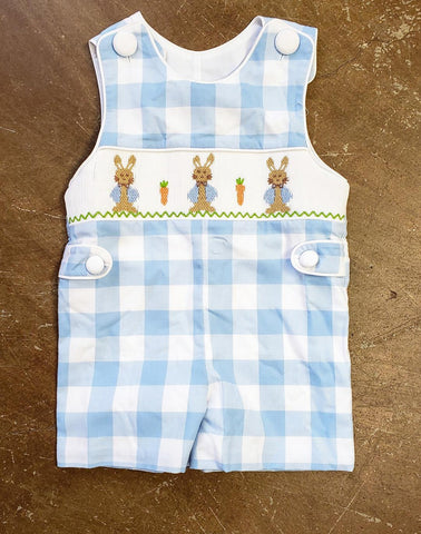 Boys Peter Cottontail Smocked Jon Jon Banana Split 205 Spring 2019