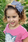 Classic 5-inch Candy Stripe Hair Bow