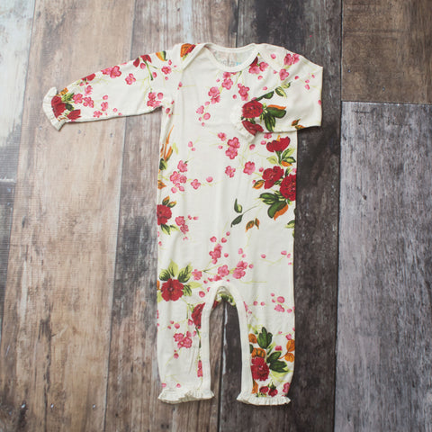 White Cherry Blossoms Coverall - Bestaroo Summer 2019