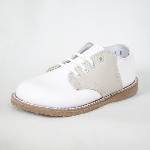 Ecru/White Oxford Saddle Shoes - Kepner Scott 2123 & 3123