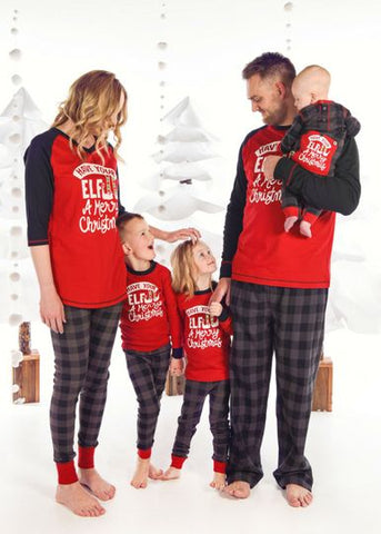 Elf Kids Pajama Set - Lazy One Fall 2018
