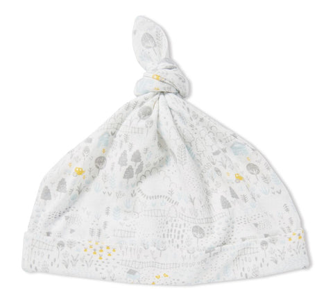 Farmlands Bamboo Knotted Hat - Angel Dear  5324