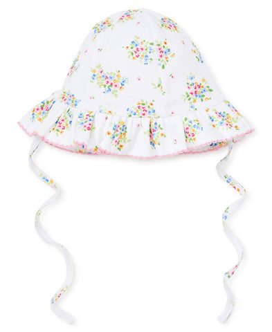 Kissy Kissy Floppy Hat in Petit Pansies  - Spring 2019