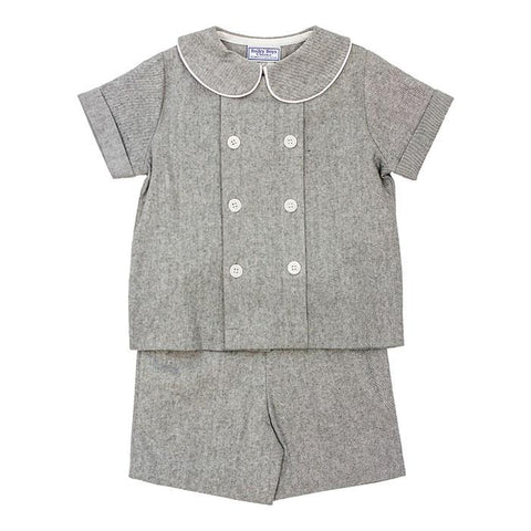 The Grey Flannel Classic Collection Boys Dressy Short Set - Bailey Boys J Bailey