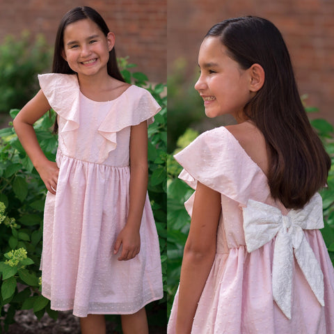 Pinky Promise Dress in Blush Mabel & Honey 395 - Spring 2020