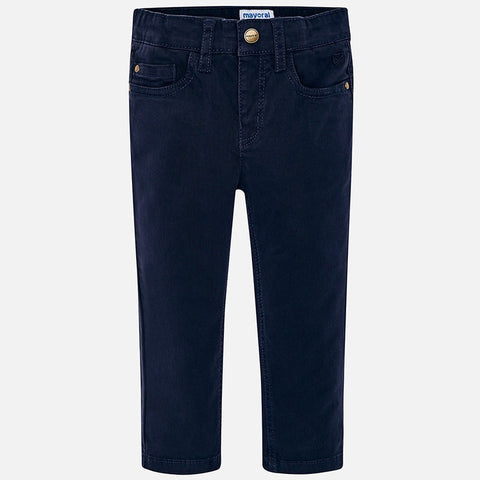 Regular Fit Pants in Navy - Mayoral Boy 41 - Fall 2019