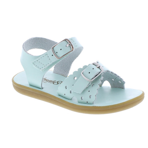 Footmates Ariel Sandal in Mint - Badorf Kids