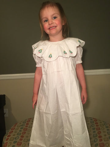 Girls Christmas Dress 909 - Fall 2018 Love Me By: Mom & Me