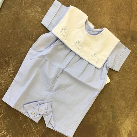 Blue Bunny Boy Romper - Baby Sen By: Remember Nguyen Spring 2019 108