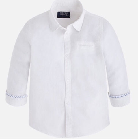 Mayoral Boy Linen Shirt 872