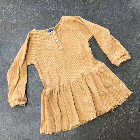 Peplum Top in Mustard - Emma Jean Fall 2019  5468