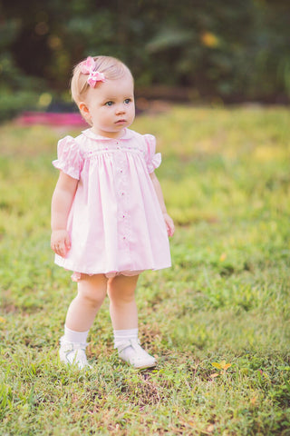 Pink Ingrid Dress Set - The Proper Peony