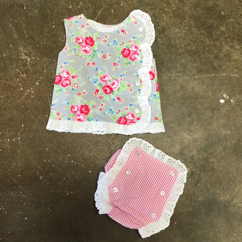Girls A Tisket A Tasket Diaper Set Three Sisters 860 Spring 2019