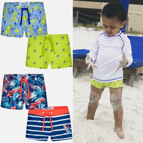 Infant Boys Swim Shorts - Mayoral 1698 1699