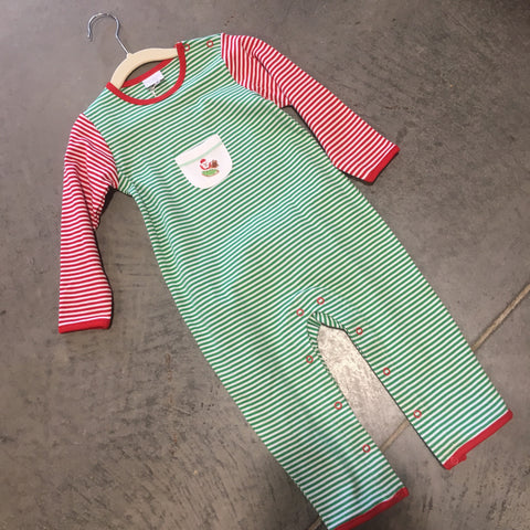 Flying Santa Coverall Infant Boy Squiggles by Charlie  5468  Fall 2019