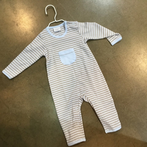 Long Sleeve Striped Coverall Squiggles by Charlie 5467   Fall 2019
