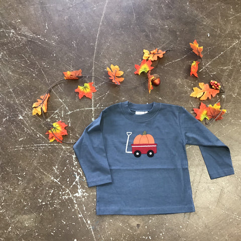 Wagon w/ Pumpkin Tshirt- Luigi Fall 2019 5281