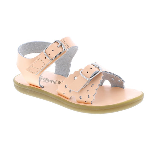 Footmates Ariel Sandal in Creamsicle - Badorf Kids