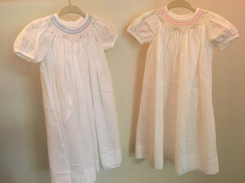 Day Gown / Christening Gown Short Sleeve 416