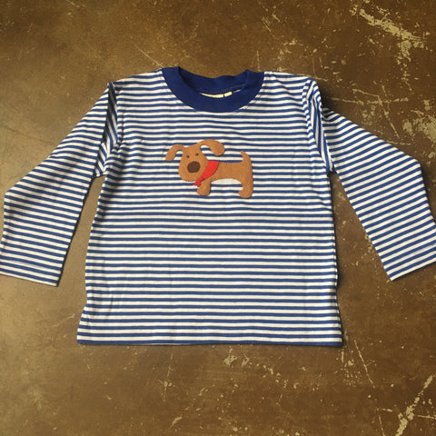 Doggie L/S Striped T-Shirt - Luigi Kids by: Acvisa 416