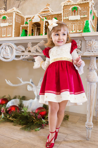 Nutcracker Embroidered Dress 111 - Evie's Closet