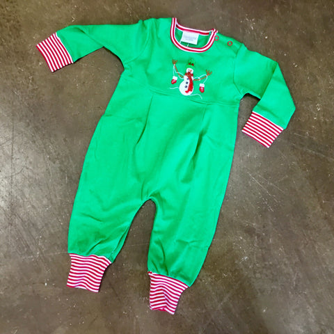 Snowman w/ Mittens Coverall Infant - Squiggles by Charlie  5467  Fall 2019