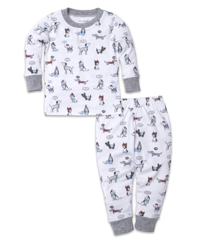 Classic Pups Pajama Set Puppy Print - Kissy Kissy Fall 2019