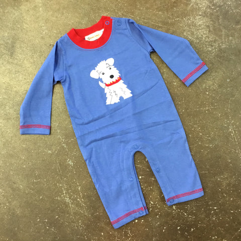 Puppy Long Sleeve Romper - Luigi Kids by: Acvisa 5446