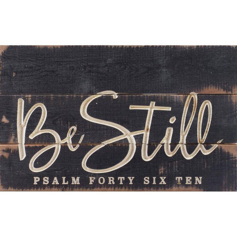 Be Still Carved - P Graham Dunn