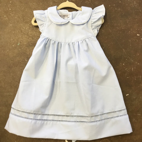 Blue Hemstitch Dress - Sweet Dreams Spring 2019 596
