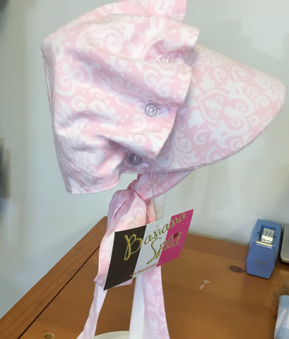 Pink Damask Bonnet - Banana Split Spring 2019 102