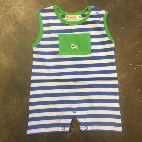 Puppy Sleeveless Romper - Baby Luigi   287