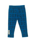 L'ovedBaby Legging - Lake Alphabet Make a Statement