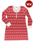 Nordic Moose Nightshirt - Lazy One