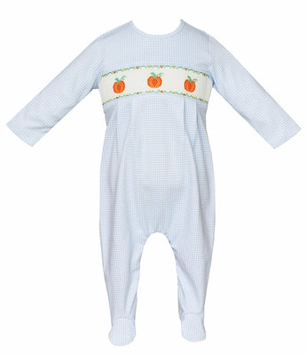 Pumpkins Boy Footie - Petit Bebe Fall 2019 410I