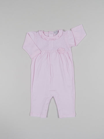 Kissy Kissy Playsuit w/ Knit Overlay (Girls) Enchantment  - Fall 2018