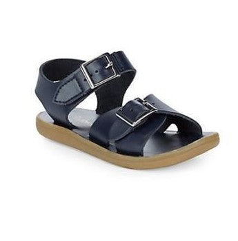 Footmates Tide Sandal in Navy - Badorf Kids