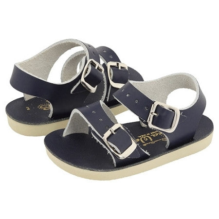 Sun San Sea Wee Salt Water Sandals - Navy