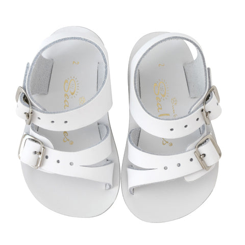 Sun San Sea Wee Salt Water Sandals - White