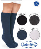Seamless Big Hug Knee High 2pk - 1600 Jefferies Socks