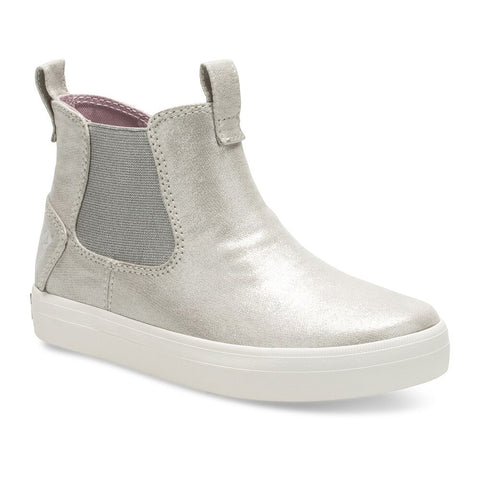 Big Kid's Crest Zone High Top Sneaker in Champagne - Sperry