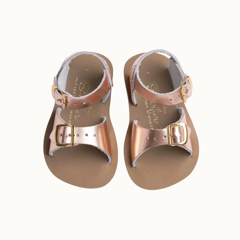 Sun San Surfer Sandals Saltwater Sandals - Rose Gold
